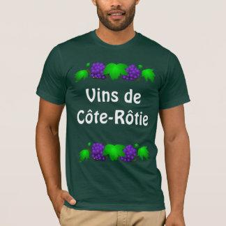 Skjorta för vin T - Côte-Rôtie T-shirt