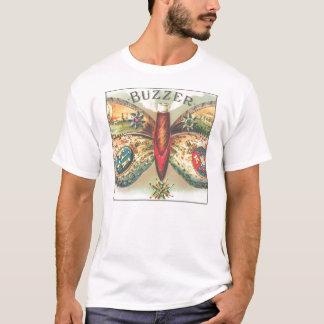 """Skjorta för vintage""""summer"""" fjäril tee shirt"""