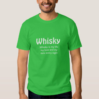 Skjorta för Whisky t Tröjor