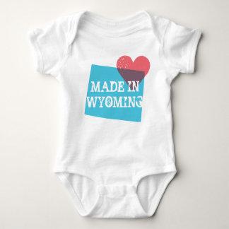 Skjorta för Wyoming statlig kärlekbaby Tee Shirt