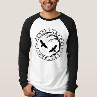 Skjorta för Yggdrasil livets trädbesättning Tee Shirts