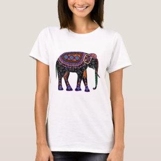Skjorta med den svart elefanten tshirts
