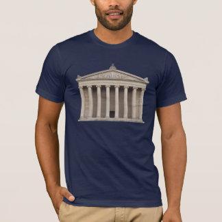 Skjorta med klassisk grekisk arkitektur t-shirts