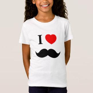 skjortan älskar jag moustachen tshirts