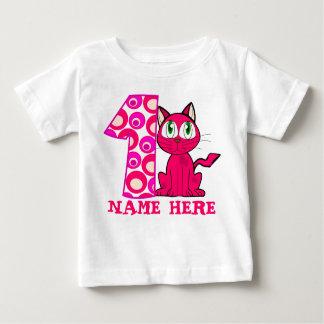 SKJORTAN för NEME T, NUMRERAR T-SKJORTAN, den 1ST T-shirt
