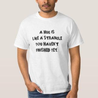 Skjortan som gör folk, håller deras avstånd tshirts