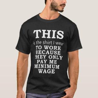 Skjortan som jag ha på sig, därför att de betalar tröja