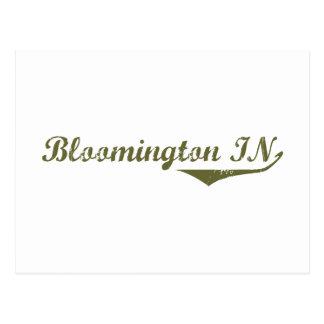 Skjortor för Bloomington revolutionutslagsplats Vykort