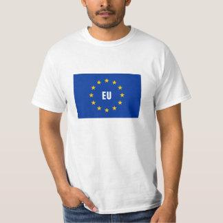 Skjortor för EGflaggaEuropeiska union t Tee Shirts