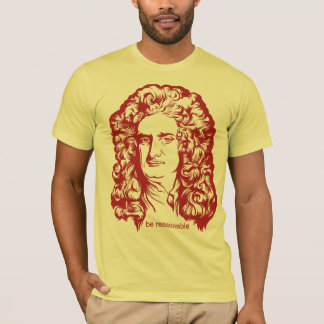 Skjortor för herr Isaac Newton Tröja