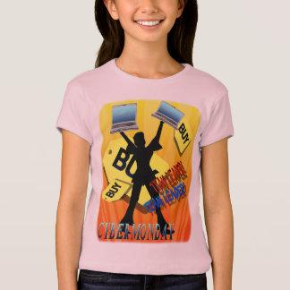 Skjortor för ledare för CyberMåndag lag T-shirt