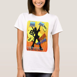 Skjortor för ledare för CyberMåndag lag Tee Shirts