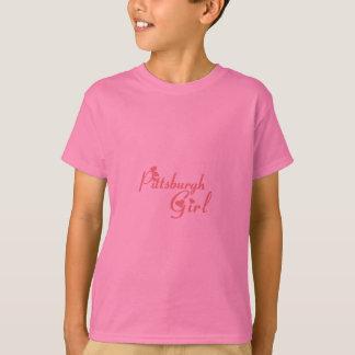 Skjortor för Pittsburgh flickautslagsplats Tee Shirt