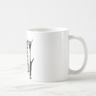 Skjut ditt begränsar kaffemugg