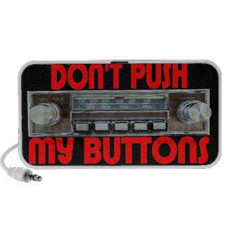 Skjut inte mitt knäppas bärbara högtalare