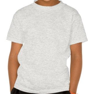 Skjut sparkar t-skjortan för ungar för tröja