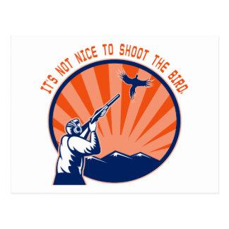 Skjuta inte fågeln vykort
