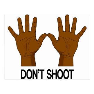 Skjuta inte vykort