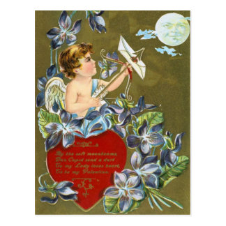 Skjuta månevalentinesvykortet vykort
