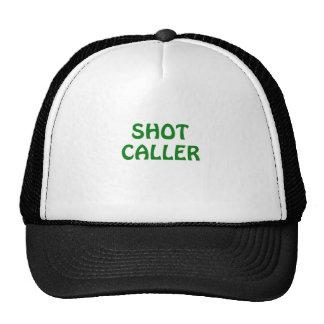 Skjuten Caller Keps