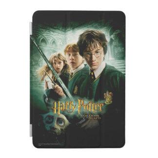 Skjuten Harry Potter Ron Hermione Dobbygrupp iPad Mini Skydd