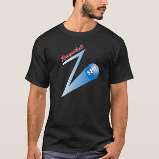 """Skjuten mörk för Racquetball """"Z"""" T Shirts"""