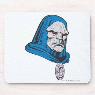 Skjutit Darkseid huvud Musmatta