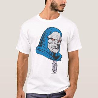 Skjutit Darkseid huvud T Shirts