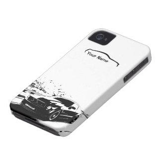 """Skjutit rullande för Mustang - """"tillfoga din egna iPhone 4 Case-Mate Cases"""