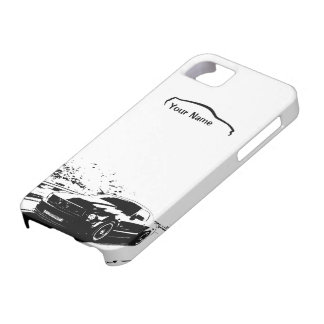 """Skjutit rullande för Mustang - """"tillfoga din egna iPhone 5 Fodral"""