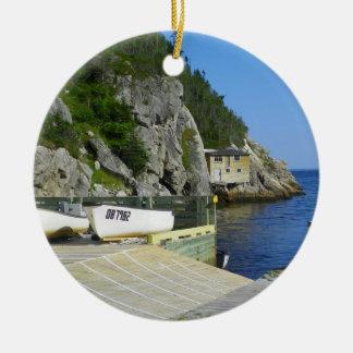 Sko coven, Newfoundland, prydnad Julgransprydnad Keramik