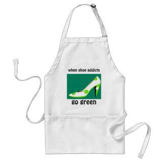 Sko knarkare går den gröna humorn förkläde