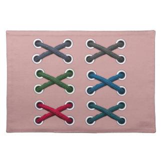 Sko snörehantverkbordstabletten bordstablett