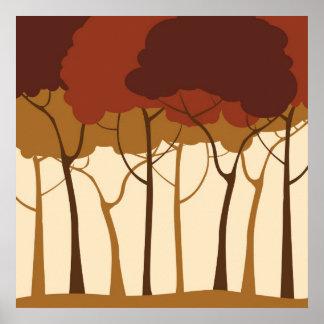Skog Poster
