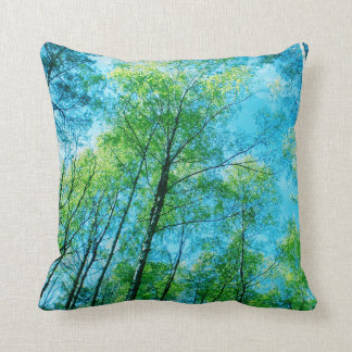 Skog - se upp - dekorativ kudde