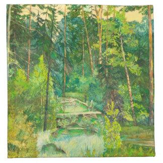 Skog Tygservett