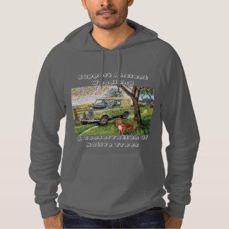 Skogsmarkgillandehoodie Sweatshirt Med Luva