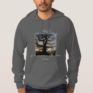 Skogsmarkgillandehoodie: TrädSilhouette Sweatshirt