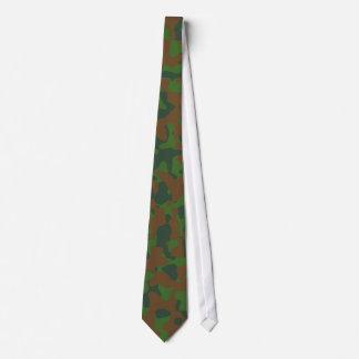 Skogsmarkkamouflagemönster Slips