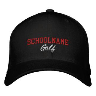 Skola andeGolf - broderad hatt - PERSONIFIERAR