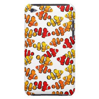 Skola av den Percula Clownfish ipod touch case