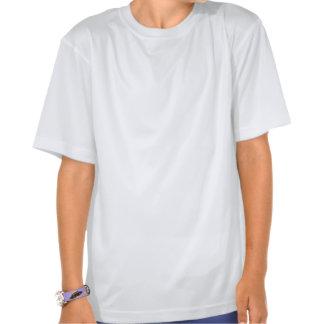 Skola av kristna fisksymboler - rosor tee shirt