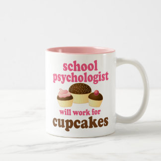 Skola den roliga) gåvan för psykologen ( Två-Tonad mugg