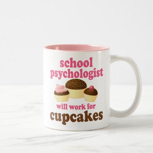 Skola den roliga) gåvan för psykologen ( kaffe muggar
