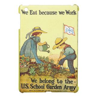 Skola den trädgårds- armén - fodral iPad mini mobil skydd
