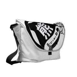 skola för bears_Messenger hänger lös Messenger Bag