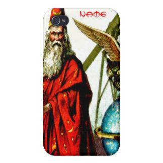 Skolar den magiska trollkarlen för vintage den Mer iPhone 4 Hud