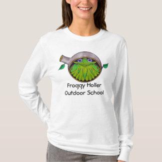 Skolar hojtat utomhus- för Froggy T-shirt