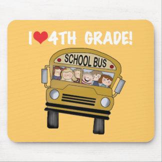 Skolbussen älskar jag den 4th klassen musmatta