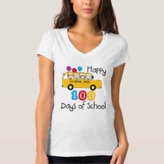 Skolbussen firar 100 dagar tee shirt